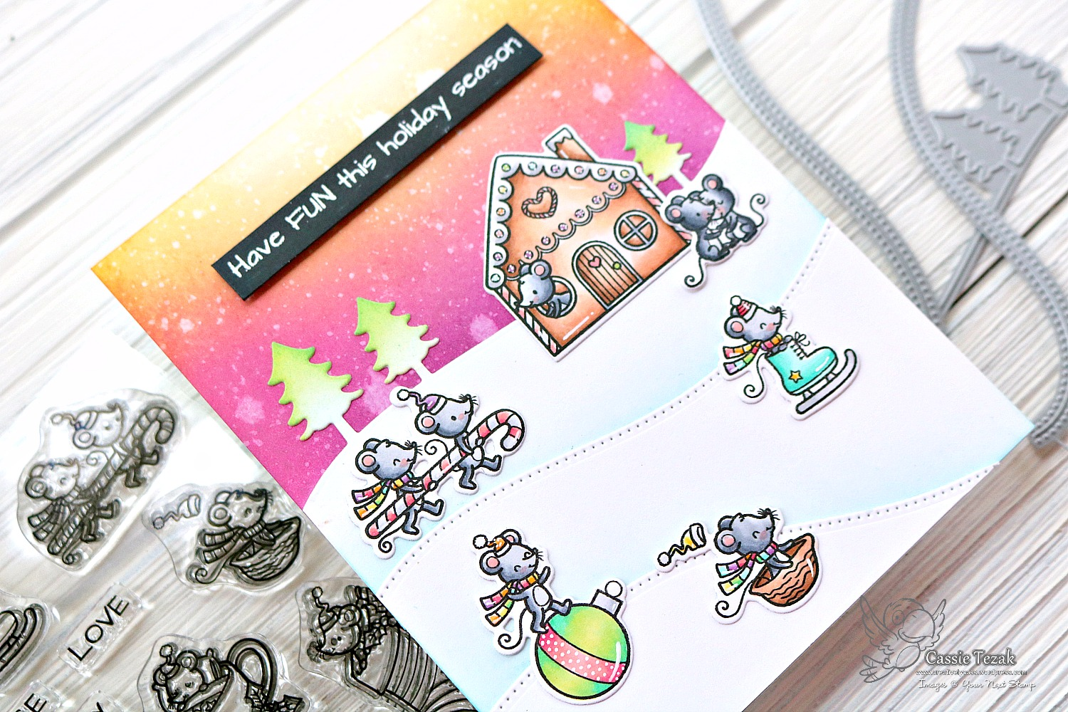 Your Next Stamp Fun Friday Card