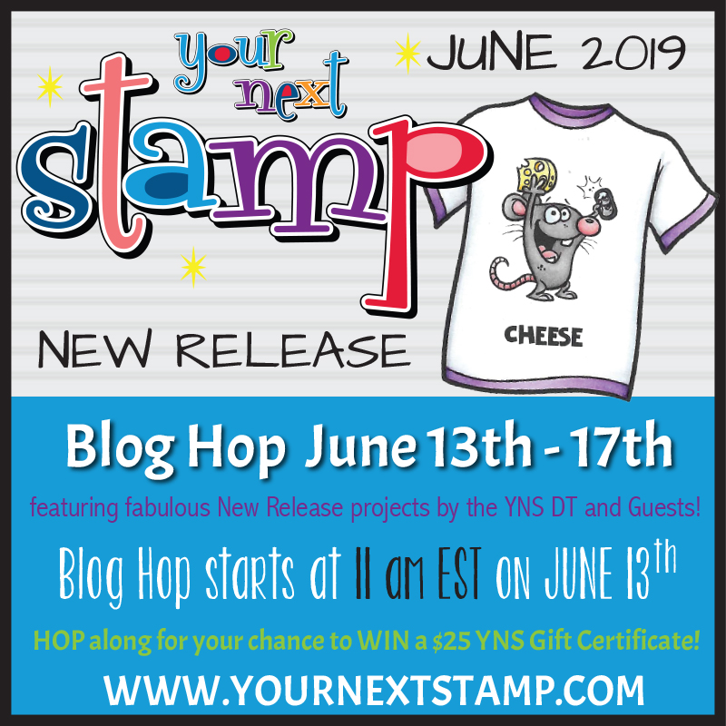 Your Next Stamp June Release Hop