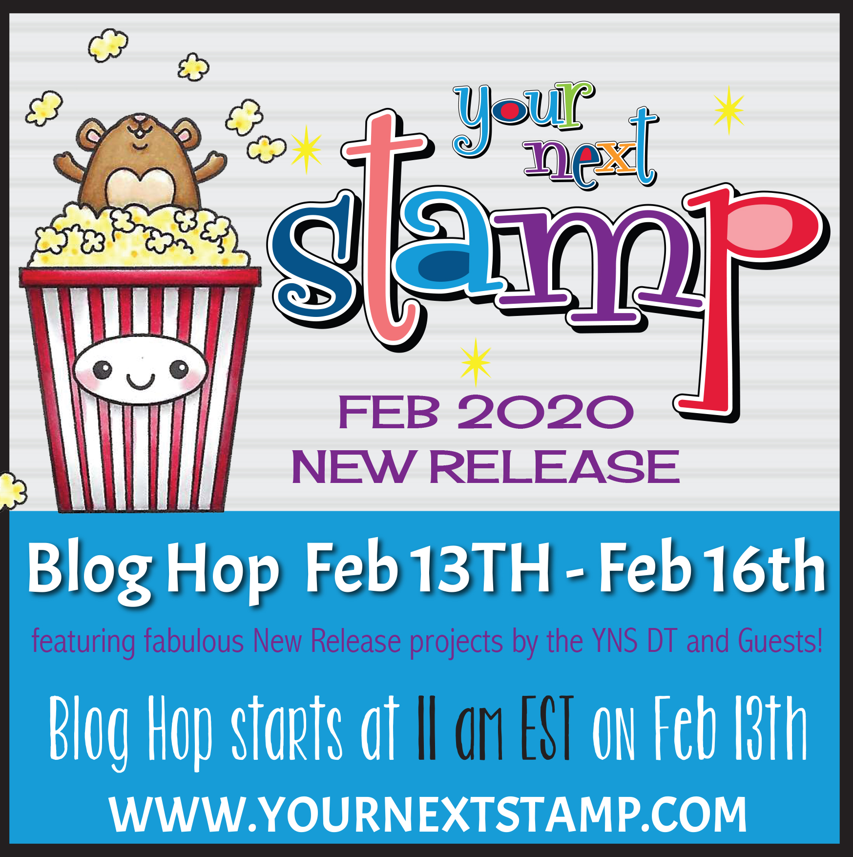 Your Next Stamp February Release