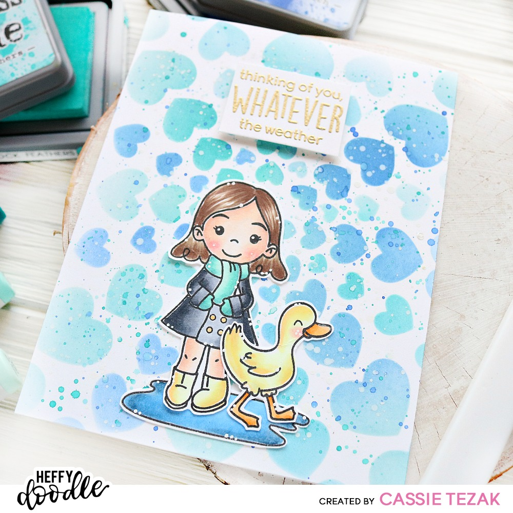 Heffy Doodle + Trinity Stamps Collab!